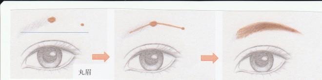 丸眉描き方[1]