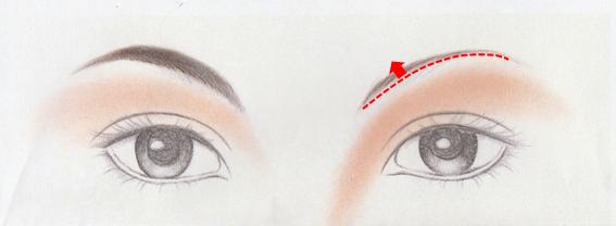 眉上半分描く図[1]