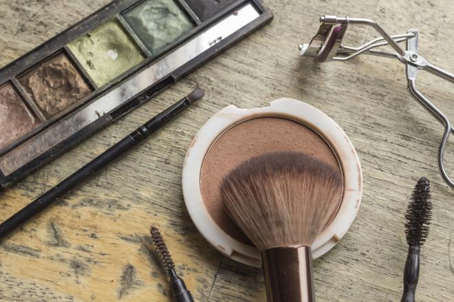 Used Makeup Kit