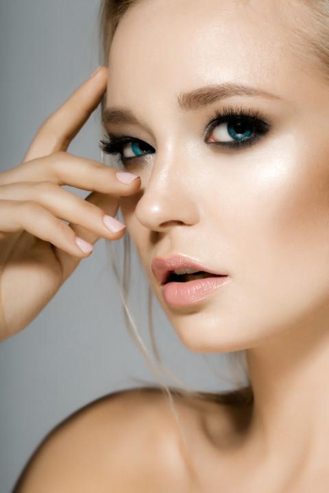 Young woman, beauty portrait