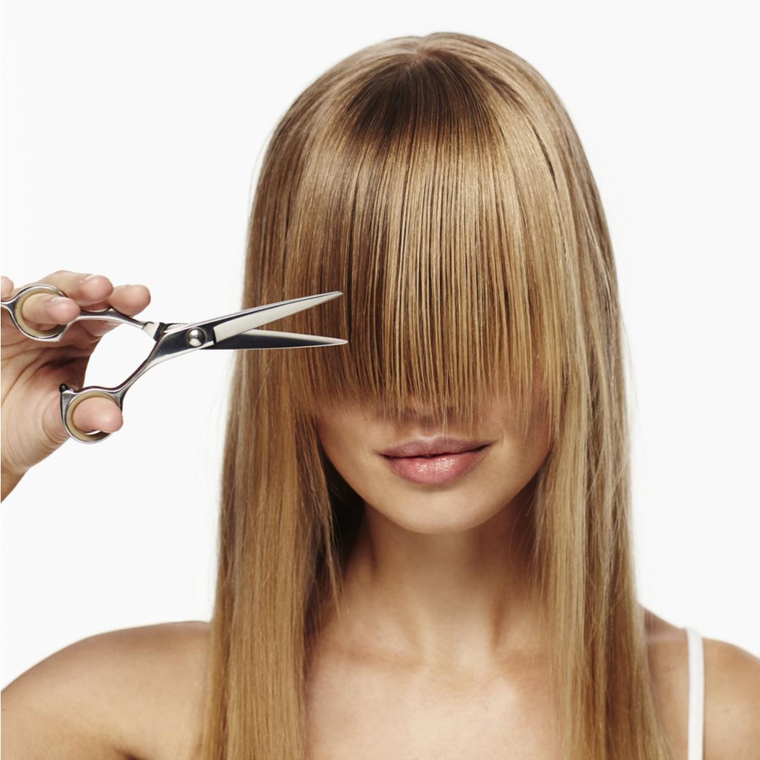 前髪カットは自分で?うまく切れるようになる、ちょっとしたコツ、伝授します!!