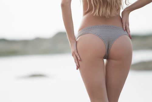 Ideal woman's butt and hips