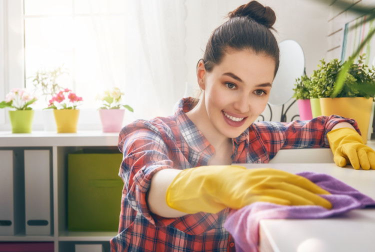 徹底的に部屋の掃除&整理をする