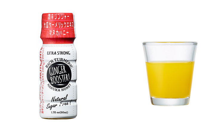 GINGER BOOSTER! EXTRA STRONG