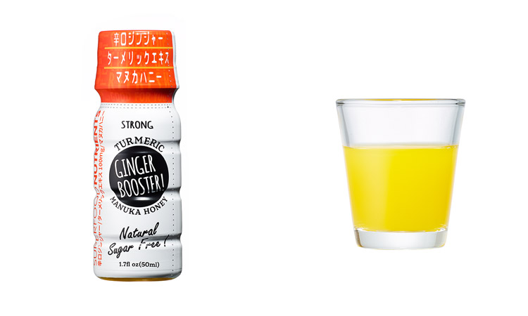 GINGER BOOSTER! STRONG