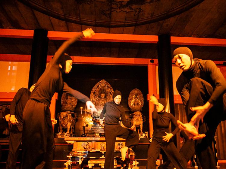 清水寺で初コラボレーション