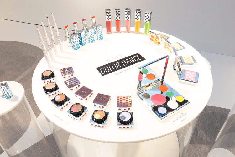 『RMK』Spring Summer 2019 Collection「COLOR DANCE」