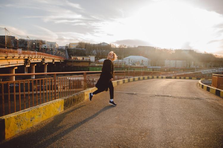 運動中と運動後