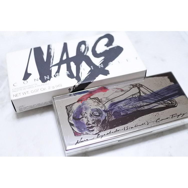 発売目前!NARS『コナー・ティングリー』アイシャドーパレット全色スウォッチ