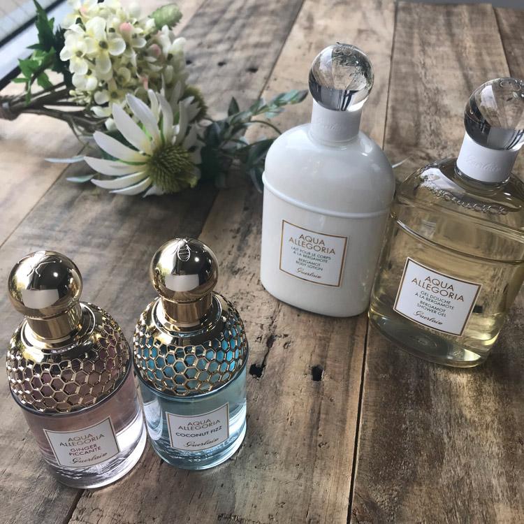 """夏こそ""""香り""""で美しさをまといたい。ゲラン「アクア アレゴリア」の新香調で幸せなひとときを"""