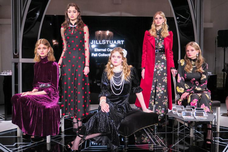 2019 JILL STUART Fall Collectionに身を包んだ5人のモデルさん