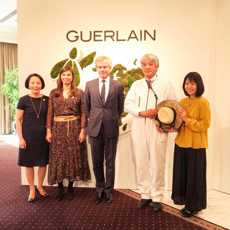 『Guerlain(ゲラン)』サスティナブルな取り組みで女性と地球を美しく。【「ゲラン サスティナビリティ イベント」レポート】