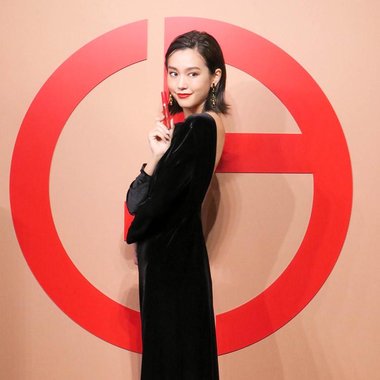 オープニングセレモニーに桐谷美玲さん登場!大盛況のポップアップ「アルマーニ ビューティ KOYO」レポート
