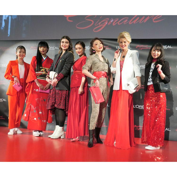 7人の輝く女性が唇へ纏う『ロレアル パリ ブリリアントシグネチャー』新発売【2020年3月6日】