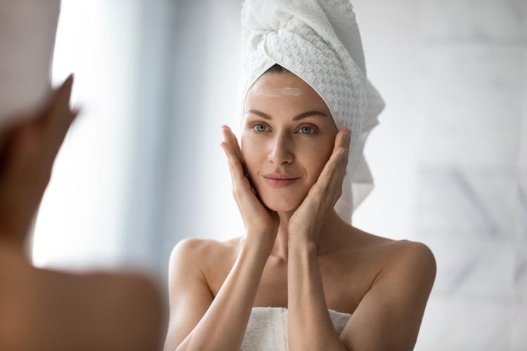 お風呂上がりは肌が乾燥しやすい魔のタイム