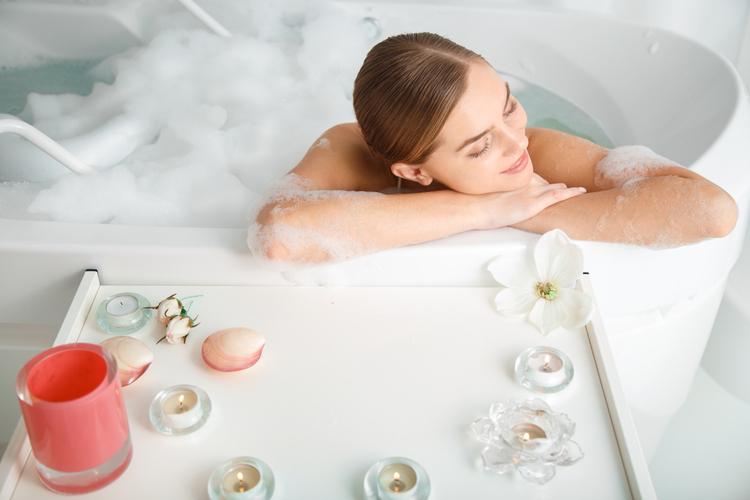 お風呂上がりのタイミングでマッサージ