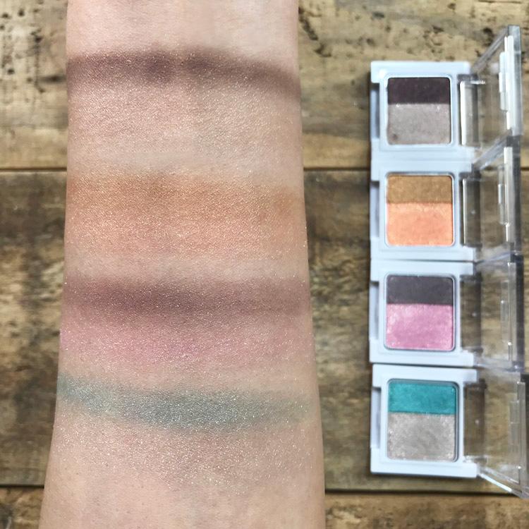 肌色を活かして印象的に彩る新色4色